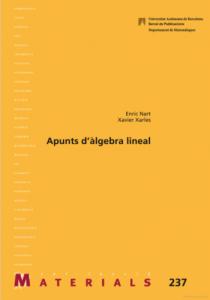 Apunts d'àlgebra lineal