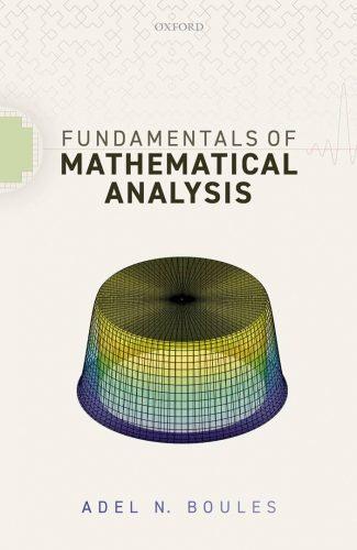Fundamentals of mathematical analysis