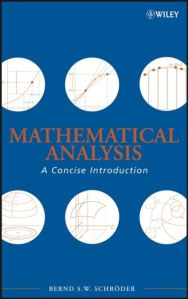 Mathematical analysis : a concise introduction