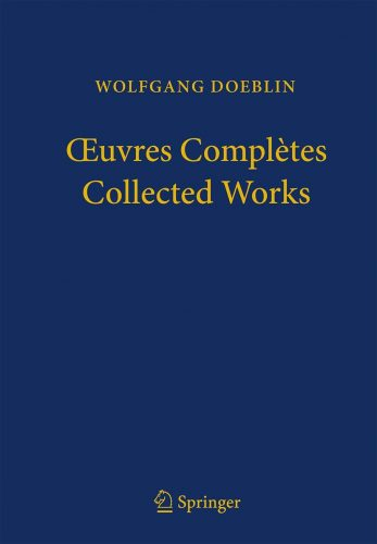 Wolfgang Doeblin : Oeuvres complètes = Collected works